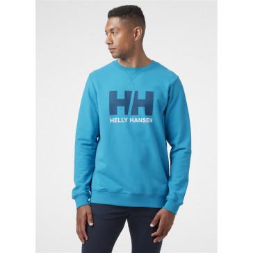 Bluza bawełniana męska Helly Hansen LOGO CREW SWEAT
