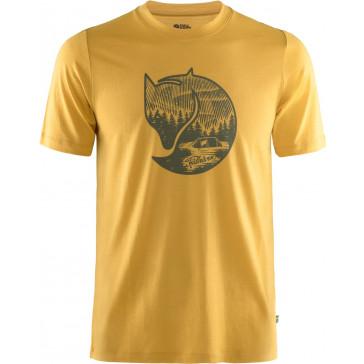 T-Shirt wełniany męski Abisko Wool Fox SS M