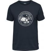 T-shirt bawełniany męski Lägerplats T-Shirt