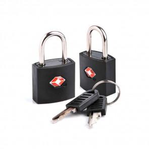 Dwie kłódki Tsa Identi Lock