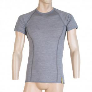 Koszulka termoaktywna męska MERINO ACTIVE TEE SS MEN Grey