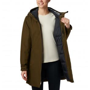 Płaszcz ocieplany z membraną damski Columbia Autumn Rise™ Mid