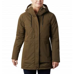 Płaszcz ocieplany z membraną damski Columbia South Canyon™ Sherpa Lined Jacket