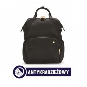 Plecak miejski antykradzieżowy damski Pacsafe Citysafe CX Czarny