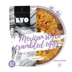Danie wegetariańskie mała porcja - Jajecznica meksykańska LYOFOOD