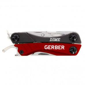 Narzędzie Multi-tool z 12 funkcjami Gerber DIME RED
