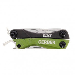 Narzędzie Multi-tool z 12 funkcjami Gerber DIME GREEN