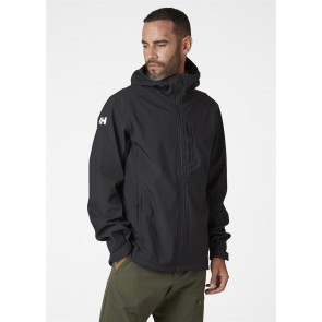 Kurtka softshellowa męska Helly Hansen PARAMOUNT HOODED SOFTSHELL JACKET