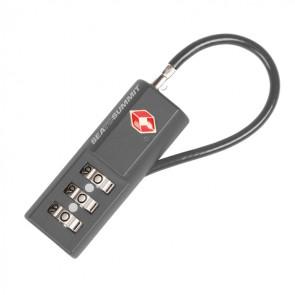 Kłódka podróżna na szyfr z elastyczną linką Combo Cable TSA Lock