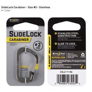 Karabinek SlideLock Carabiner #2 Stalowy