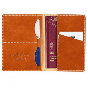 Etui skórzane na paszport Leather Passport Cover