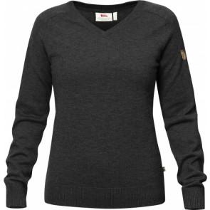 Sweter myśliwski wełniany damski Sörmland V-Neck Sweater W
