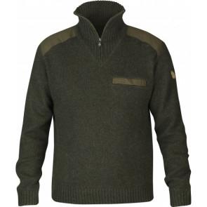 Sweter myśliwski wełniany męski Koster Sweater