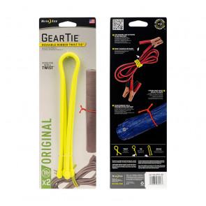 "Troki Nite Ize Gear Tie 18"" - Neon Yellow"
