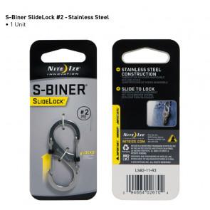 Karabinek S-Biner #2 SlideLock Stalowy