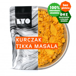 Danie obiadowe mała porcja - Kurczak tikka masala LYOFOOD