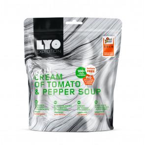 Danie wegańskie mała porcja - Zupa krem pomidorowo-paprykowy LYOFOOD