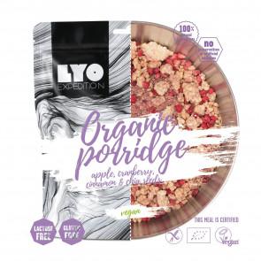 Danie wegańskie mała porcja - EKO Owsianka z jabłkiem, żurawiną i cynamonem LYOFOOD