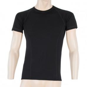 Koszulka termoaktywna męska Sensor Merino AIR TEE SS MEN Black