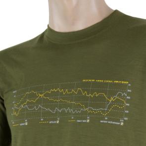 Koszulka termoaktywna męska MERINO ACTIVE PT tee ss MEN Safari Track