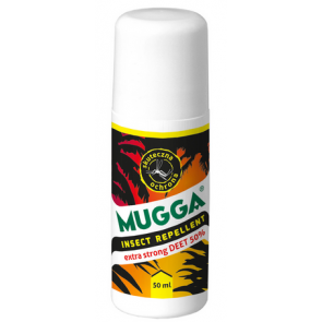 Repelent w kulce Mugga DEET 50% Roll-On
