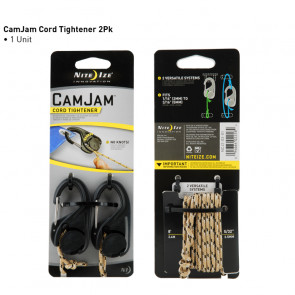 CamJam Cord Tightener - 2Pack w/Rope