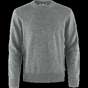 Sweter wełniany męski Fjallraven Övik Round-neck Sweater