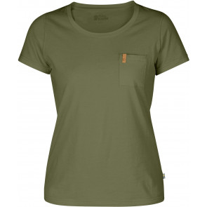 T-shirt bawełniany damski Fjallraven Övik T-Shirt W