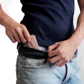 Pasek ze schowkiem na pieniądze Pacsafe CashSafe 25