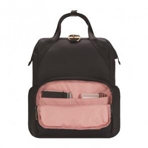 Plecak miejski antykradzieżowy damski Pacsafe Citysafe CX Bordowy