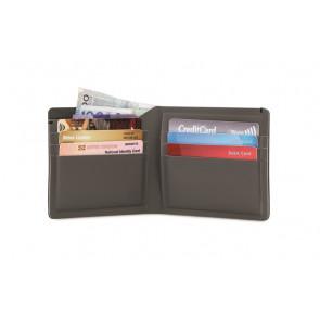 Portfel antykradzieżowy RFIDsafe TEC Bifold Plus Black