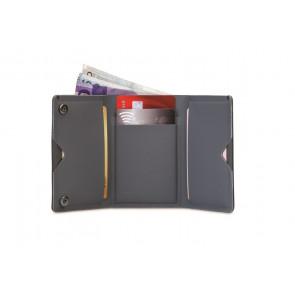 Portfel antykradzieżowy RFIDsafe TEC Trifold Wallet Black