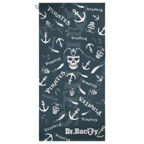 Ręcznik szybkoschnący XL (70x140 cm) Piraci