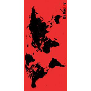 Ręcznik szybkoschnący Dr Bacty L (60x130 cm) Red Map