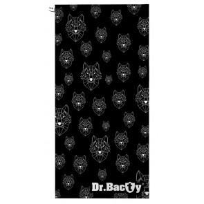 Ręcznik szybkoschnący L (60x130 cm) Wilki