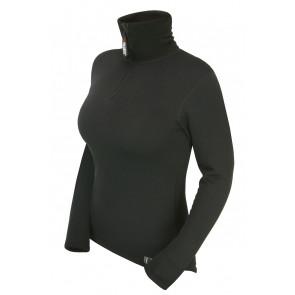 Bluza damska z zamkiem KWARK Power Stretch Pro 080000