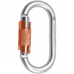 Karabinek Stalowy Oval Twist Lock