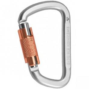 Karabinek Stalowy Twist K-Lock D-kształtny