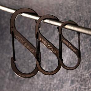 Karabinek S-Biner #5 Czarny