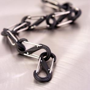 Karabinek S-Biner #4 Plastic Black Gate Czarny