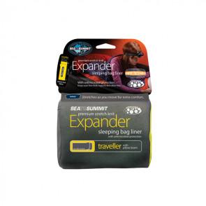Wkładka do śpiwora Expander Liner Traveller Granatowy