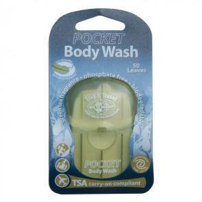 Mydło do ciała w listkach (50 szt.) Trek & Travel Pocket Body Wash