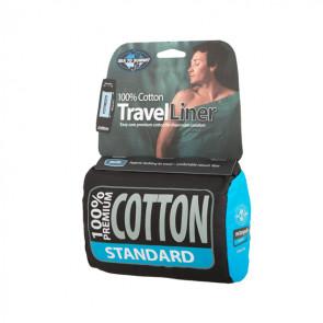 Wkładka do śpiwora Cotton Liner Standard Granatowa