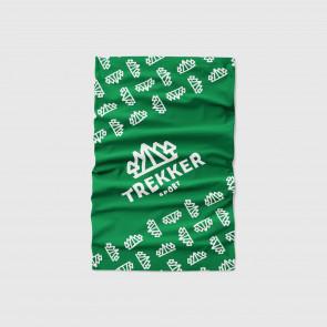 Komin chusta wielofunkcyjna Trekker Sport Zielony