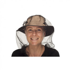 Moskitiera na głowę z Permethrinem Nano Mosquito Headnet Permethrin Treated
