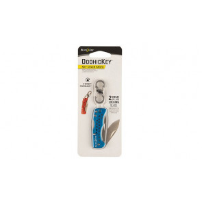 Brelok z nożem DoohicKey Key Chain Knife Niebieski